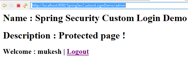 Spring Security Example
